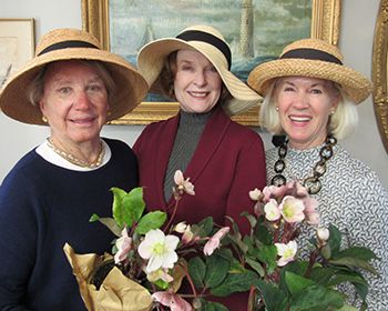 Flower Mart Chairs Susan Aherne, Janie Hegstrom, Susan Parker, Four Rivers Garden Club.