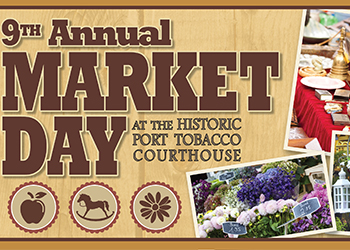 Port Tobacco Market Day Poster