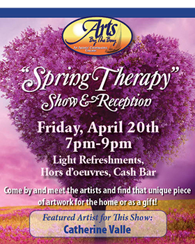 Arts by the Bay Spring Therapy Poster