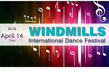 Windmills International Dance Festival Poster