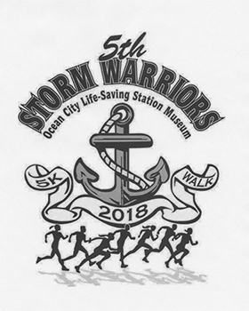 Storm Warriors 5k logo