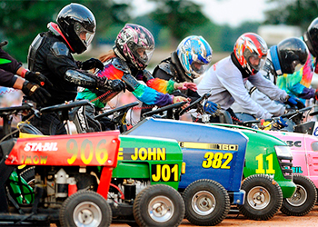 Lawn Mower Races