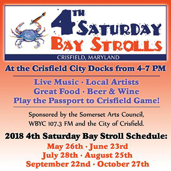 4th Saturday Bay Strolls Flyer