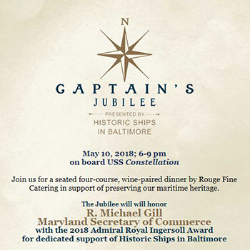 Invitation to the Captain's Jubilee