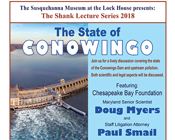 The State of Conowingo Event Poster