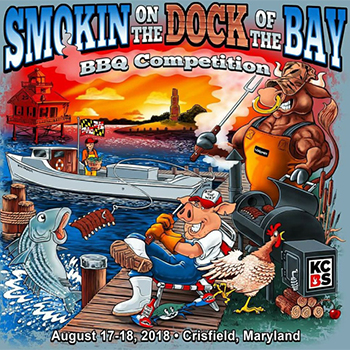 Smokin on the Dock of the Bay Poster