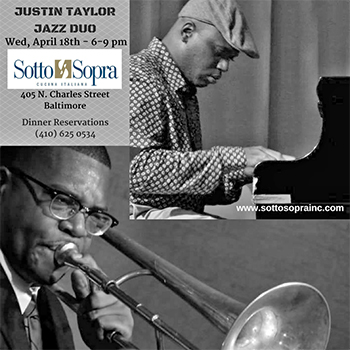 Justin Taylor Duo at Sotto Sopra