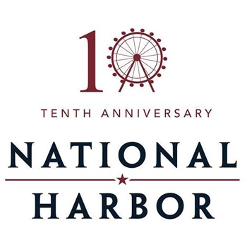 National Harbor's 10th Anniversary logo