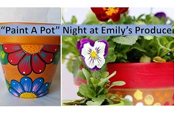 Paint a Pot Night