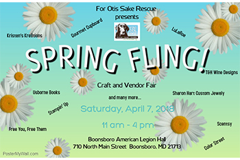 Spring Fling Craft and Vendor Fair Flyer