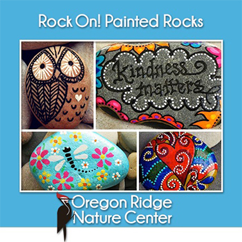 Rock On! Painted Rocks Poster