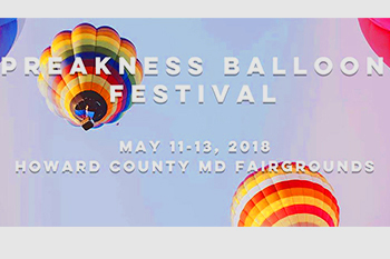 Preakness Balloon Festival Signage