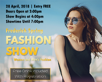 Frederick Spring Fashion Show  Poster