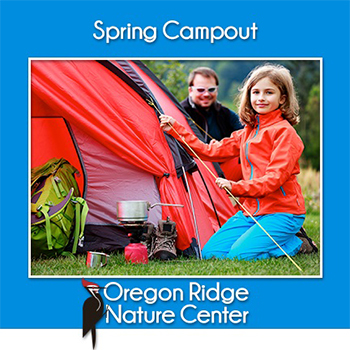 Spring Campout Poster