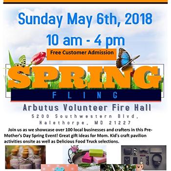Arbutus Spring Fling Poster
