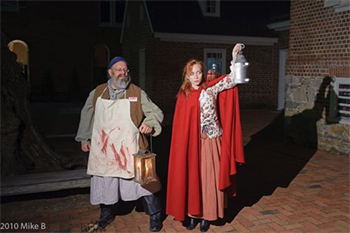 Hosts tell ghostly stories at Paca House