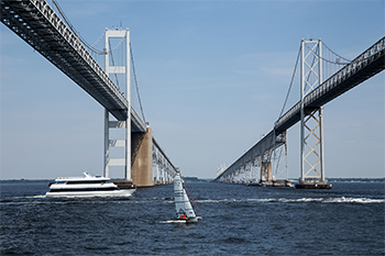 Cruise under the Bay Bridge