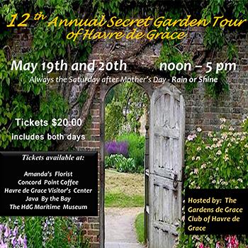 Secret Garden Tour Poster