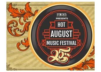 Hot August Music Festival logo