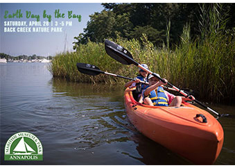 Kids Kayak at Back Creek Nature Park