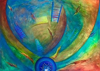 Ascending and Descending by Rosana Azar