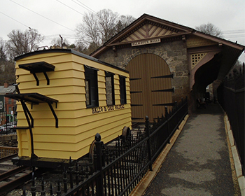 B & O Ellicott City Station Museum and Pioneer