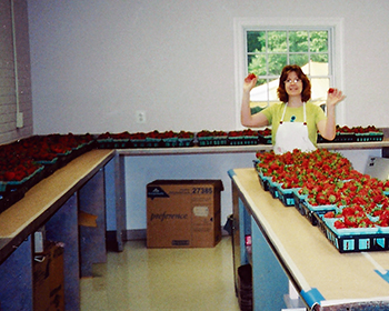 Strawberry Queen with 300 quarts!