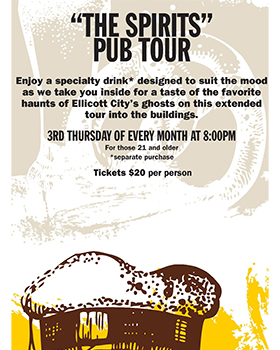 The Spirits Pub Tour poster