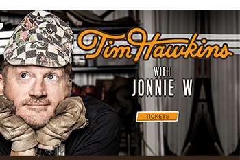 Tim Hawkins with Jonnie W.