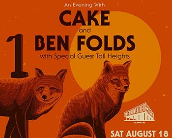 Cake & Ben Folds poster