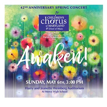 Awaken! CCM Spring Concert Poster