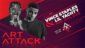 Art Attack Vince Staples and Lil Yachty