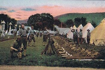 Gettysburg postcard