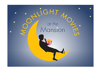 Moonlight Movies at the Mansion Logo