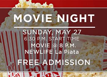 Free Family Movie Night Poster