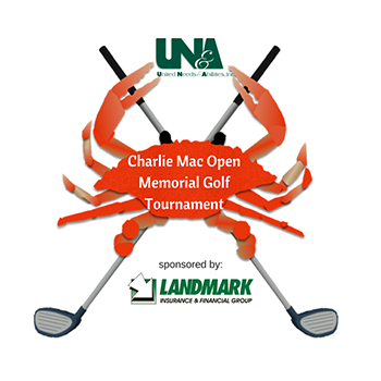 Charlie Mac Golf Tournament & Crab Feast Logo