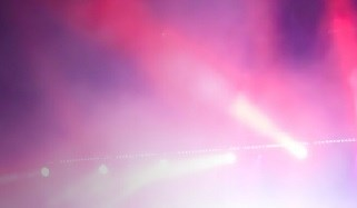 Light Show at concert