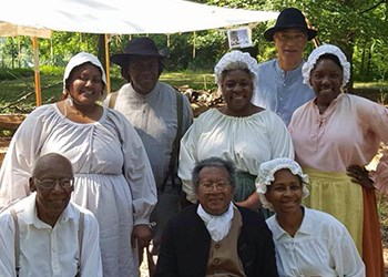Jubilee Voices at the Colonial Market Fair