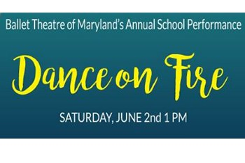 Ballet Theatre of MD Annual Performance - Dance on Fire