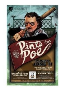 Pints for Poe 2018 Poster