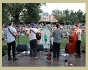 Musicians Play Outdoors at Strathmore