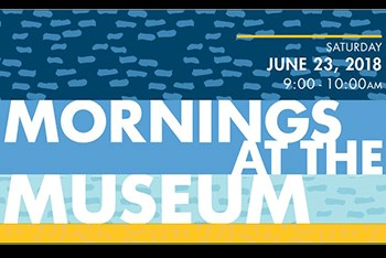 Mornings at the Museum flyer