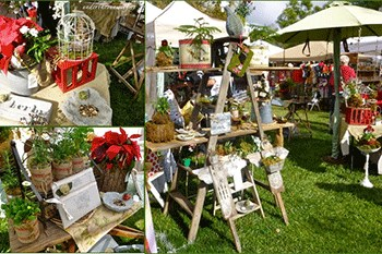 Outdoor Christmas in July Craft Show
