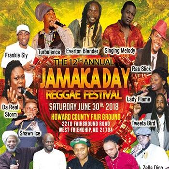 Jamaica Day Reggae Festival Poster