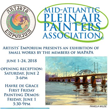 Mid-Atlantic Plein Air Painters' Assn. Poster