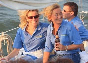 People on a Beer Tasting Cruise