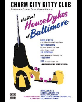The Real Housedykes of Baltimore Poster