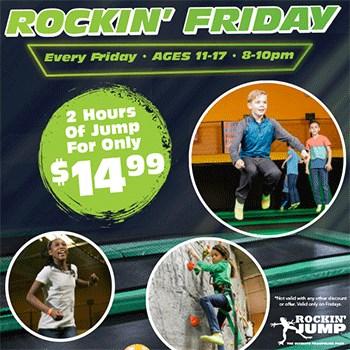 Rockin' Friday Poster