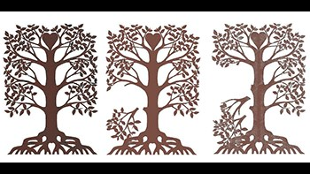 trace your roots tree logo