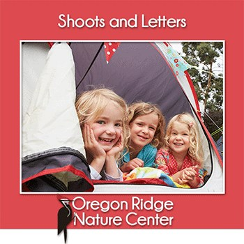 Shoots and Letters – Camping Poster